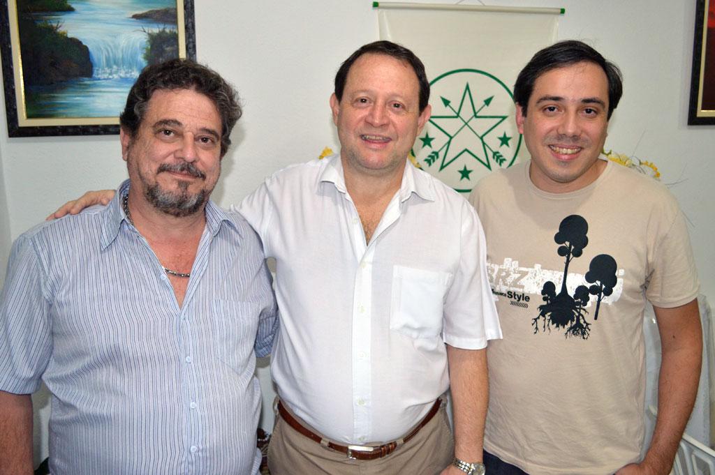 Armando Arsenio, Manoel Lopes e Alexander Irapoan