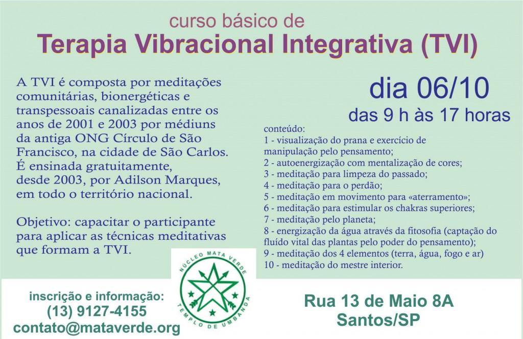 Curso de Terapia Vibracional Integrativa