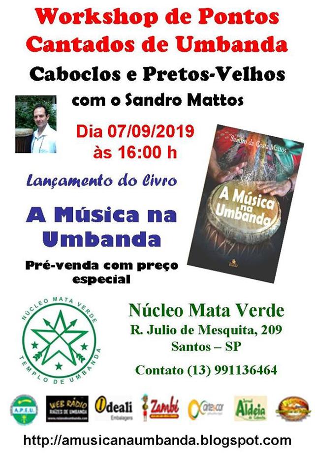 Workshop de pontos cantados de umbanda